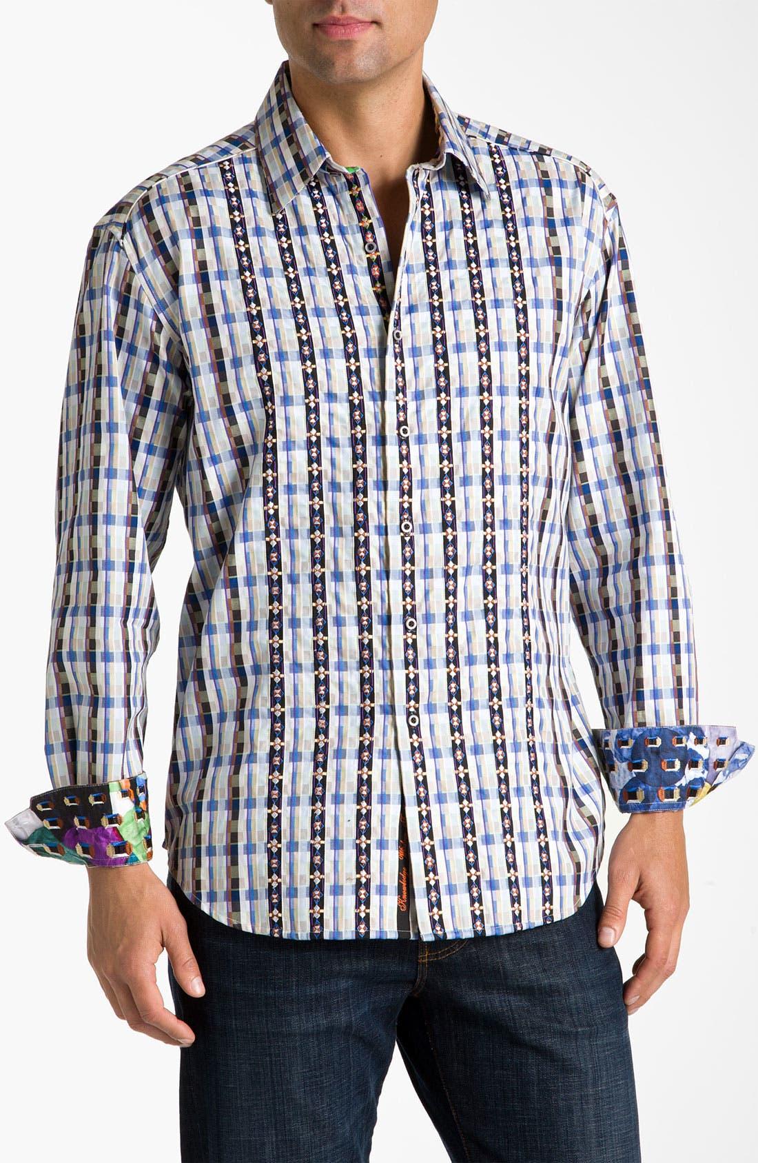 Alternate Image 1 Selected - Robert Graham 'Escalade' Sport Shirt
