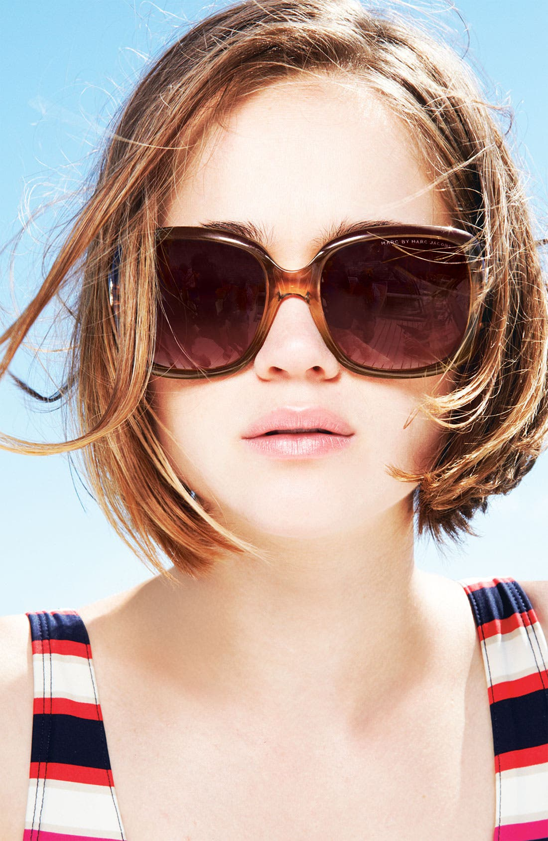 Alternate Image 3  - MARC BY MARC JACOBS 58mm Oversized Sunglasses
