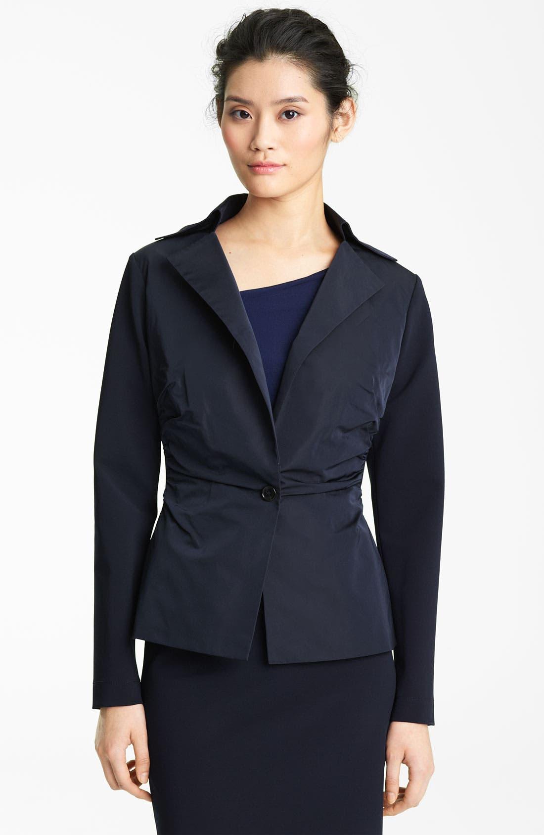 Alternate Image 1 Selected - Lida Baday Contrast Radzimir Peplum Jacket