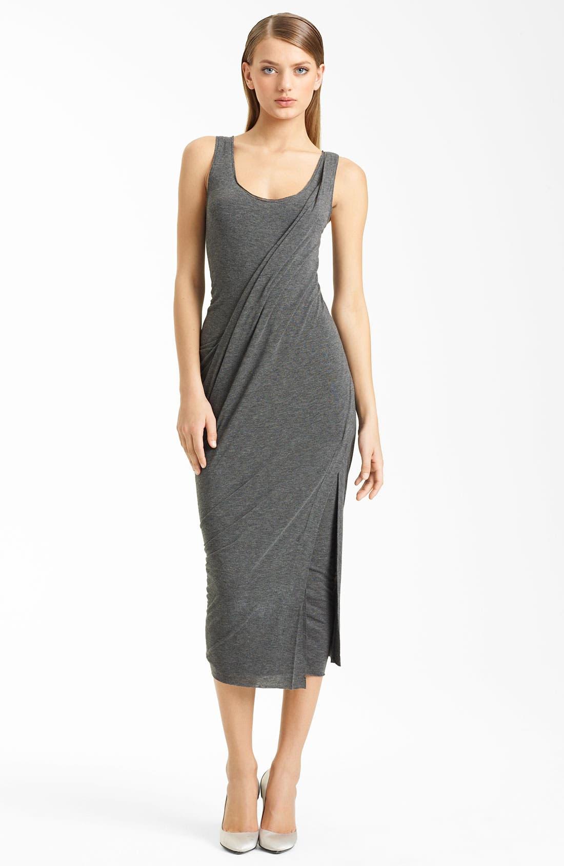 Main Image - Donna Karan Collection Layered Jersey Dress
