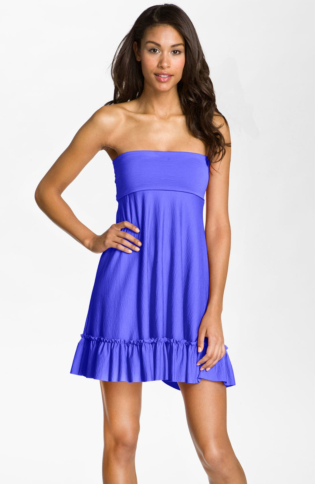 Alternate Image 1 Selected - Betsey Johnson 'Cake Pop' Convertible Cover-Up