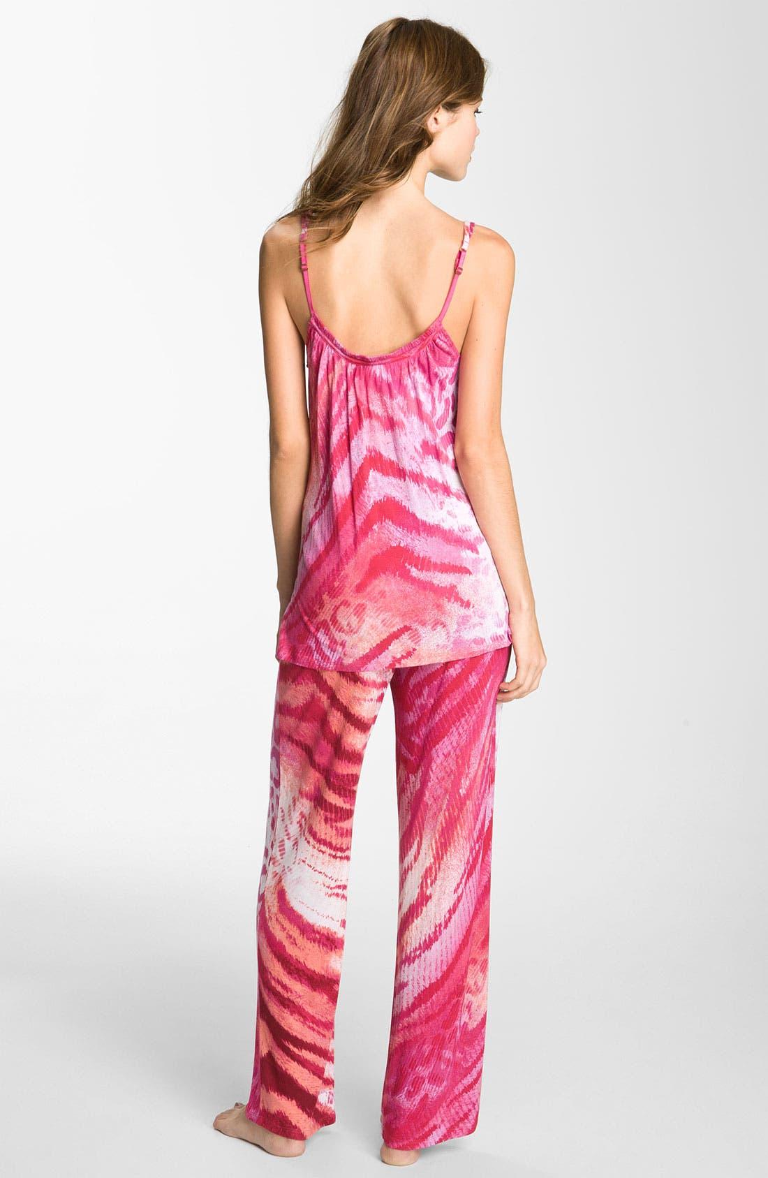 Alternate Image 2  - Natori 'Dara' Camisole Pajamas