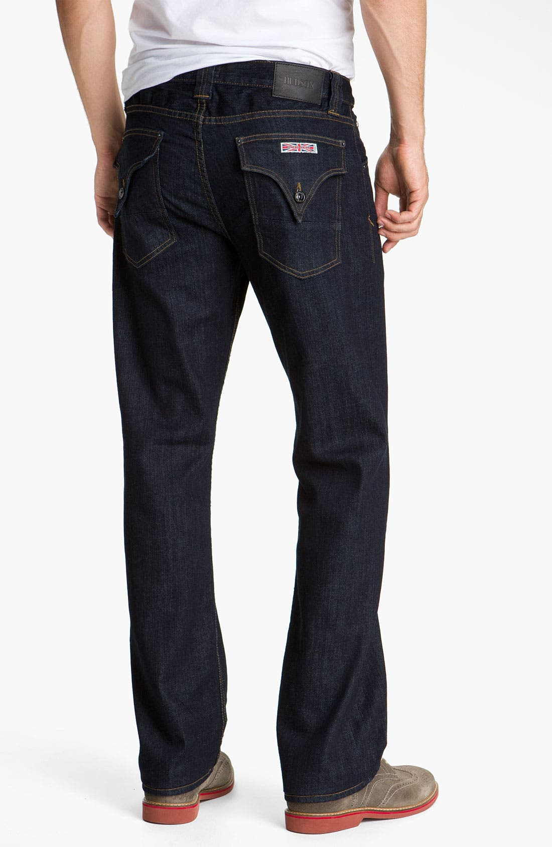 Alternate Image 1  - Hudson 'Barton' Relaxed Straight Leg Jeans (Athletics)