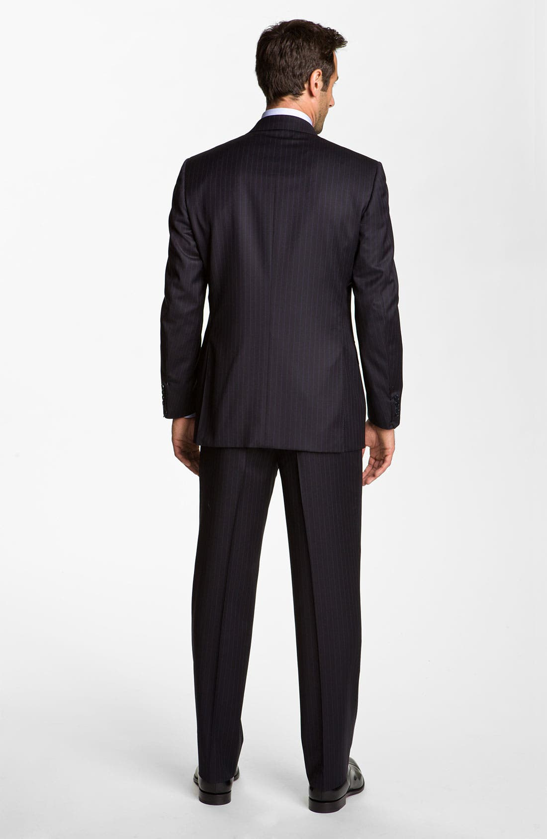 Alternate Image 3  - Canali Stripe Wool Suit