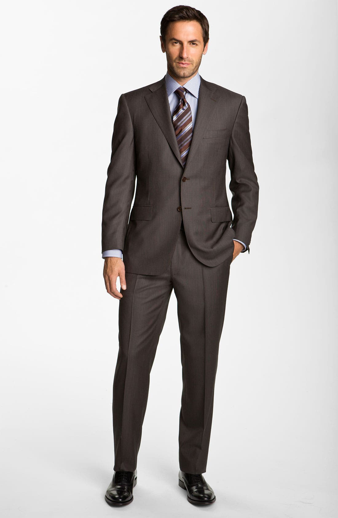 Alternate Image 2  - Canali Wool Suit