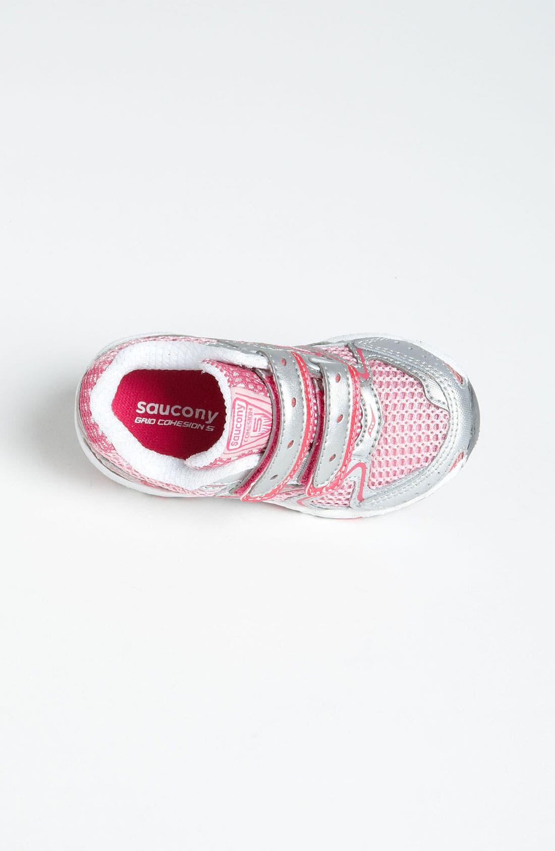 Alternate Image 4  - Saucony 'Cohesion' Sneaker (Baby, Walker & Toddler)