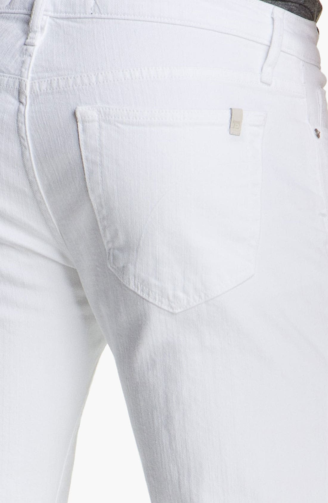 Alternate Image 4  - Joe's 'Brixton' Slim Straight Leg Jeans (Optic White)