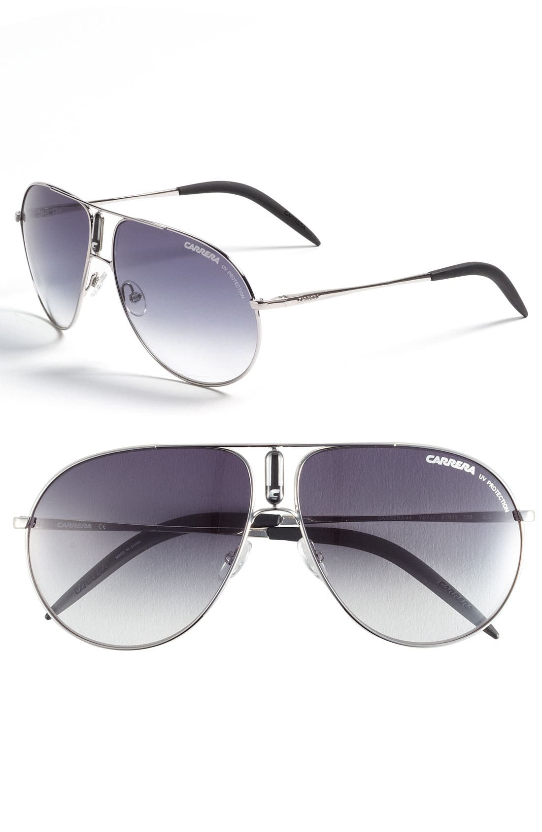 Alternate Image 1 Selected - Carrera Eyewear 61mm Aviator Sunglasses
