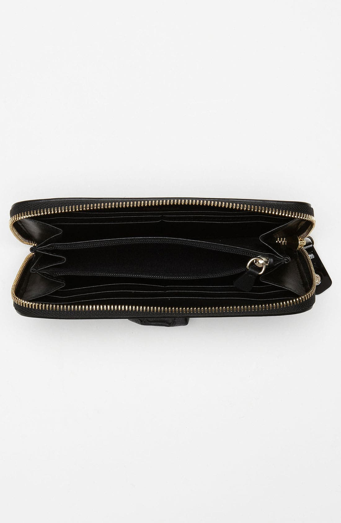 Alternate Image 3  - Jimmy Choo 'Rush' Patent Leather Wallet