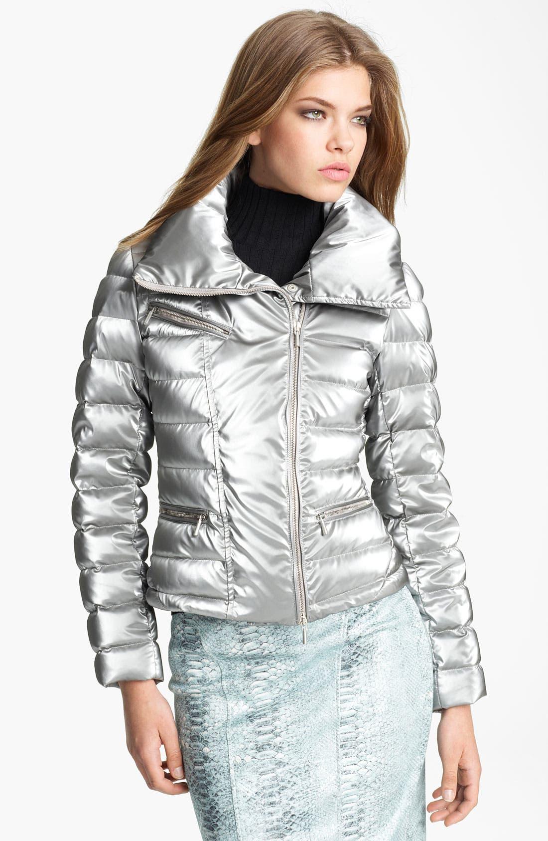 Blumarine Asymmetrical Puffer Jacket Nordstrom