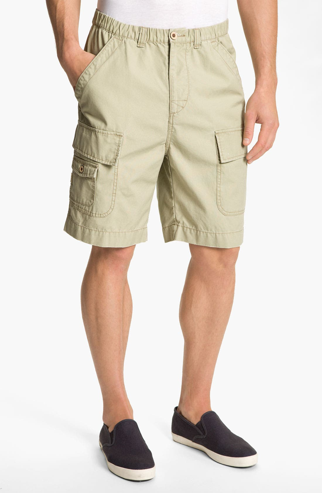 Alternate Image 1 Selected - Tommy Bahama 'New Largo' Cargo Shorts (Big)