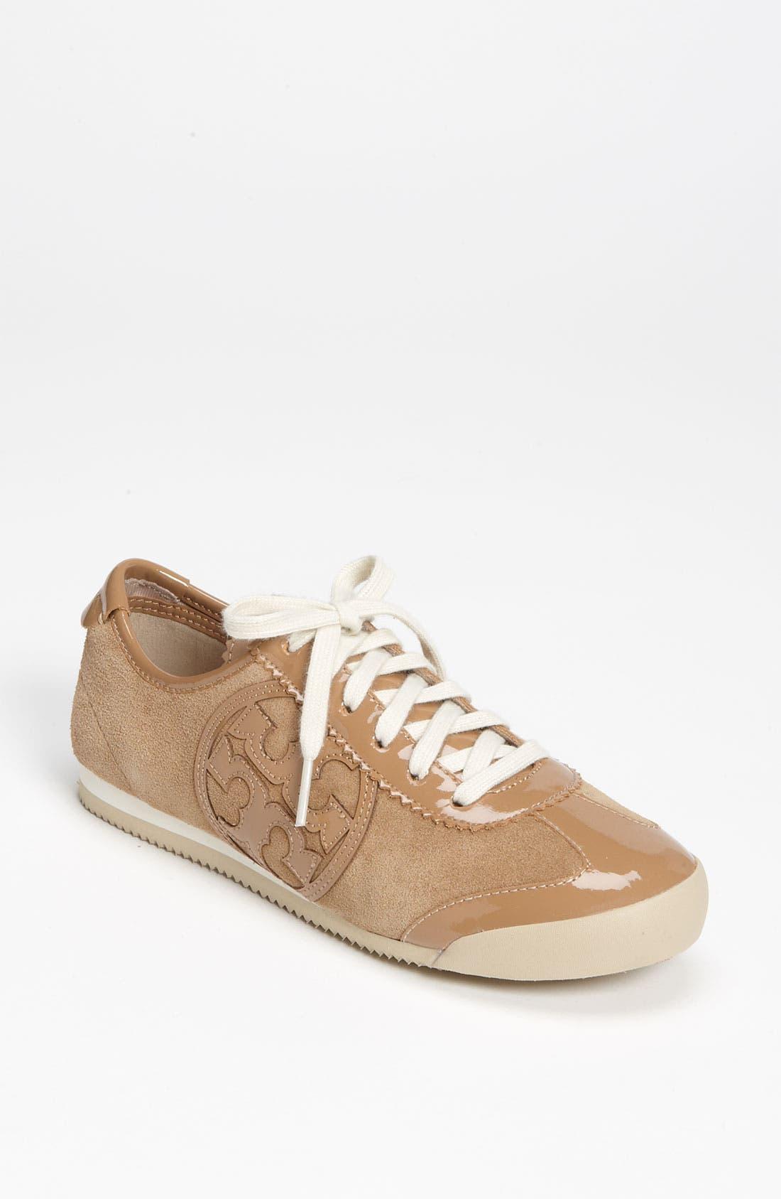 Alternate Image 1 Selected - Tory Burch 'Murphey' Split Suede Sneaker