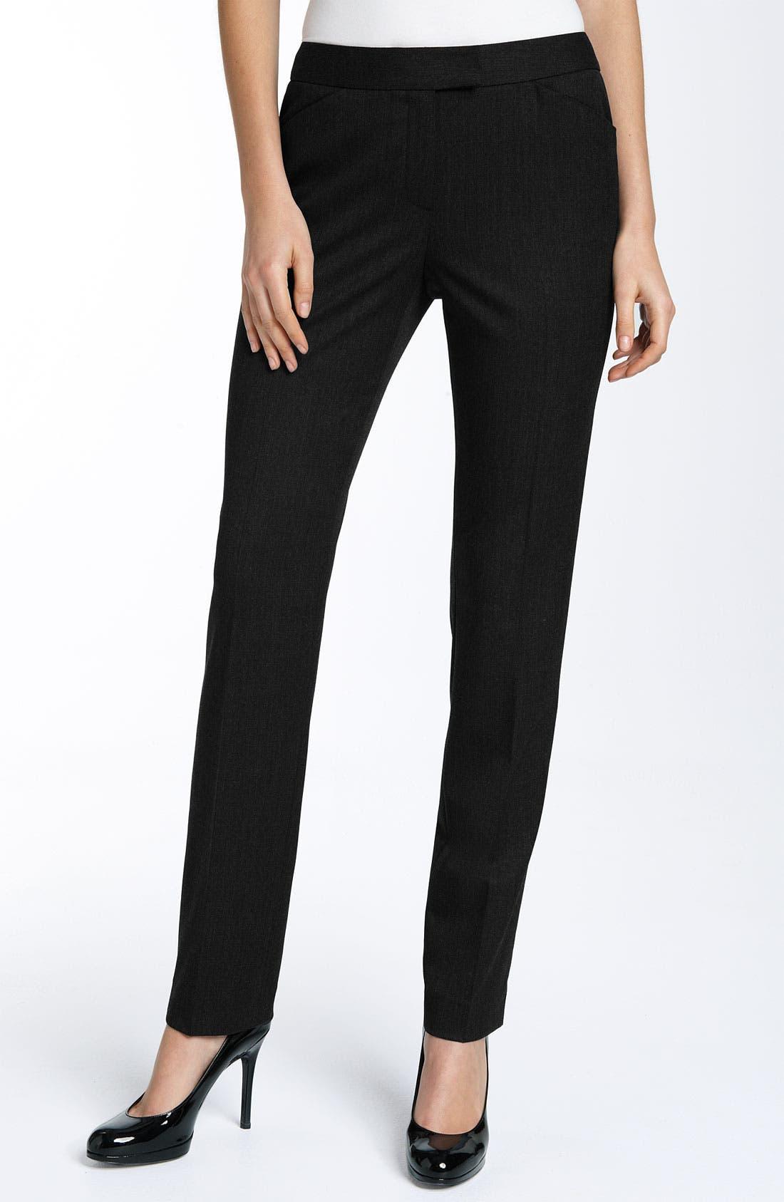 Main Image - Lafayette 148 New York 'Irving' Pants (Petite)
