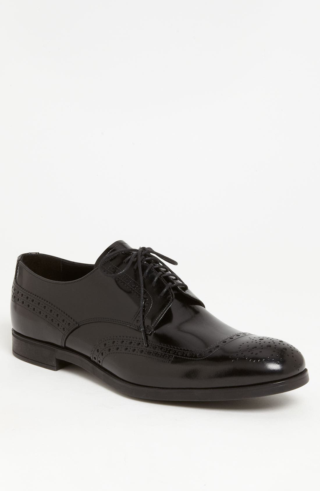 Main Image - Prada Wingtip Derby
