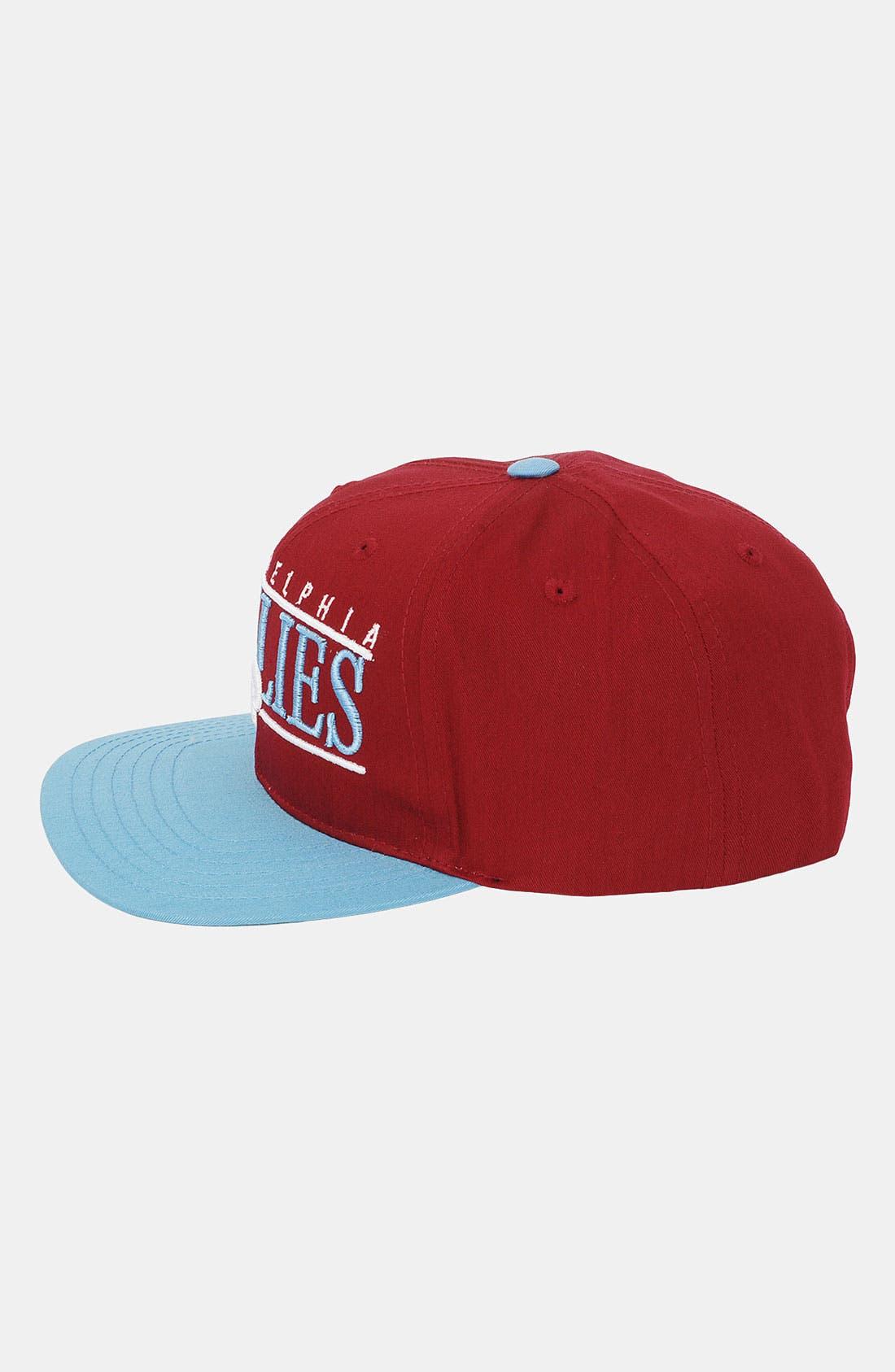 Alternate Image 3  - American Needle 'Philadelphia Phillies - Nineties' Twill Snapback Baseball Cap