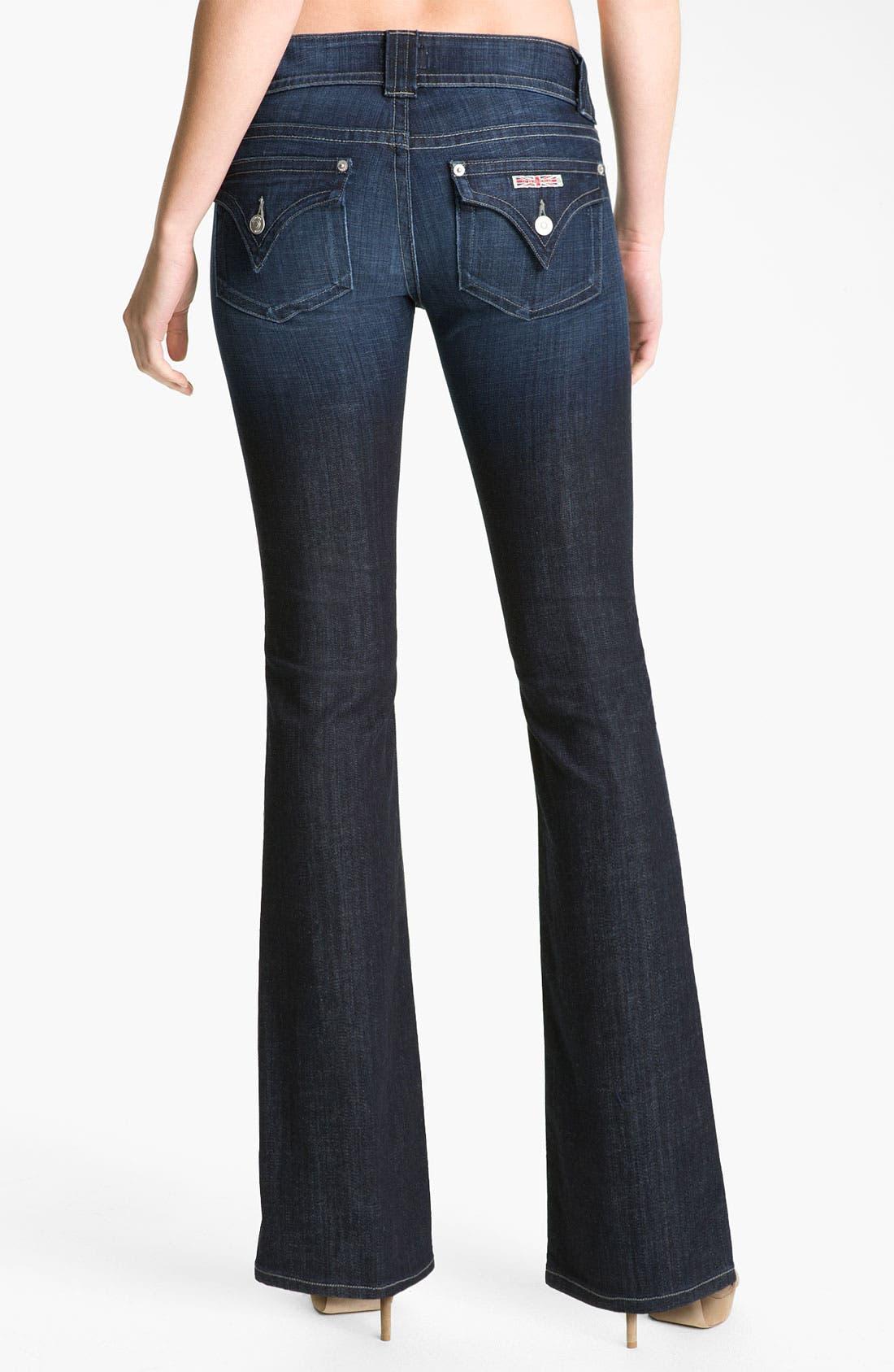 Alternate Image 2  - Hudson Jeans Signature Flap Pocket Bootcut Jeans (Bowery)