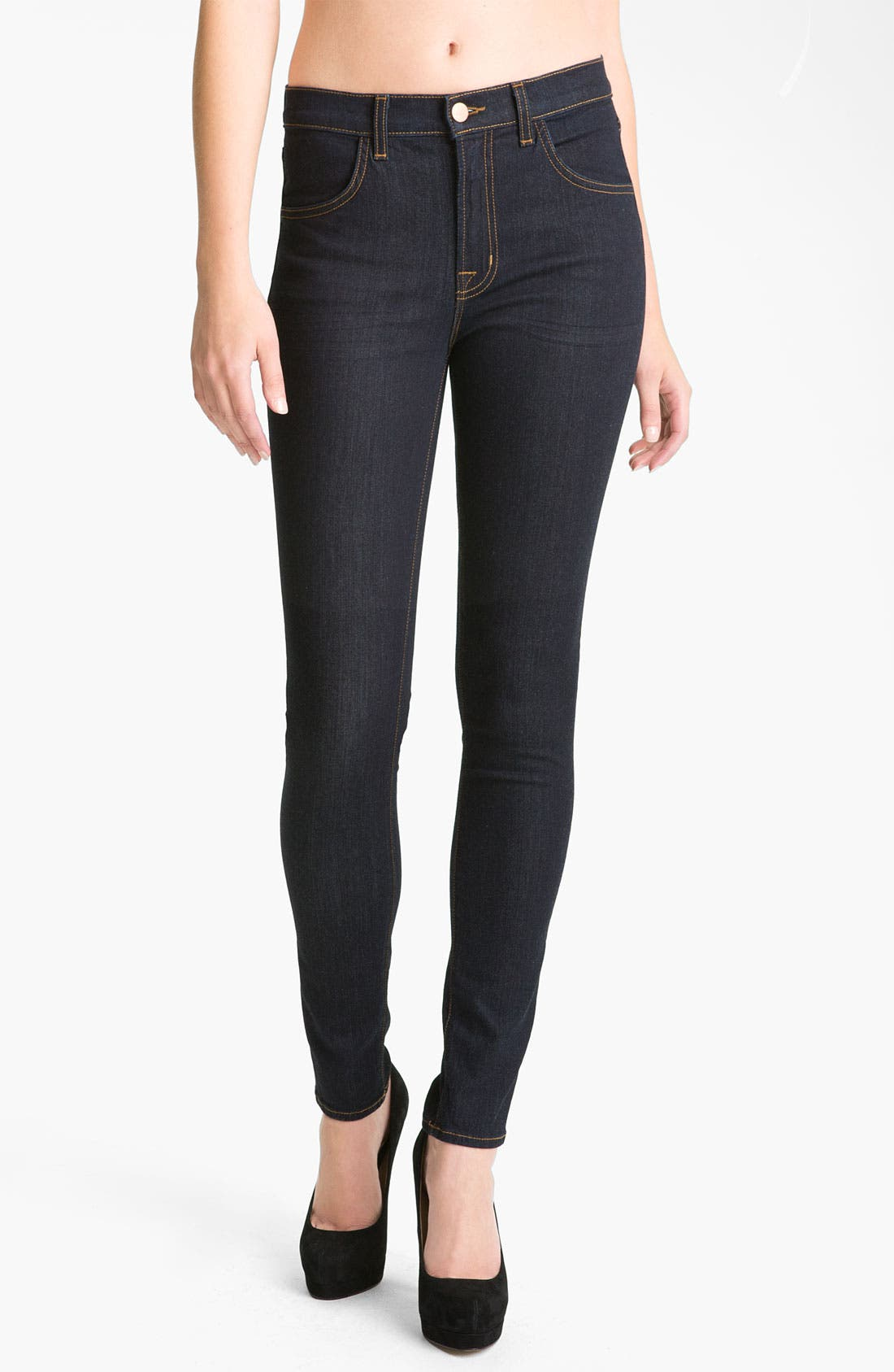 Alternate Image 1 Selected - J Brand '2311 Maria' High Rise Jeans (Starless)