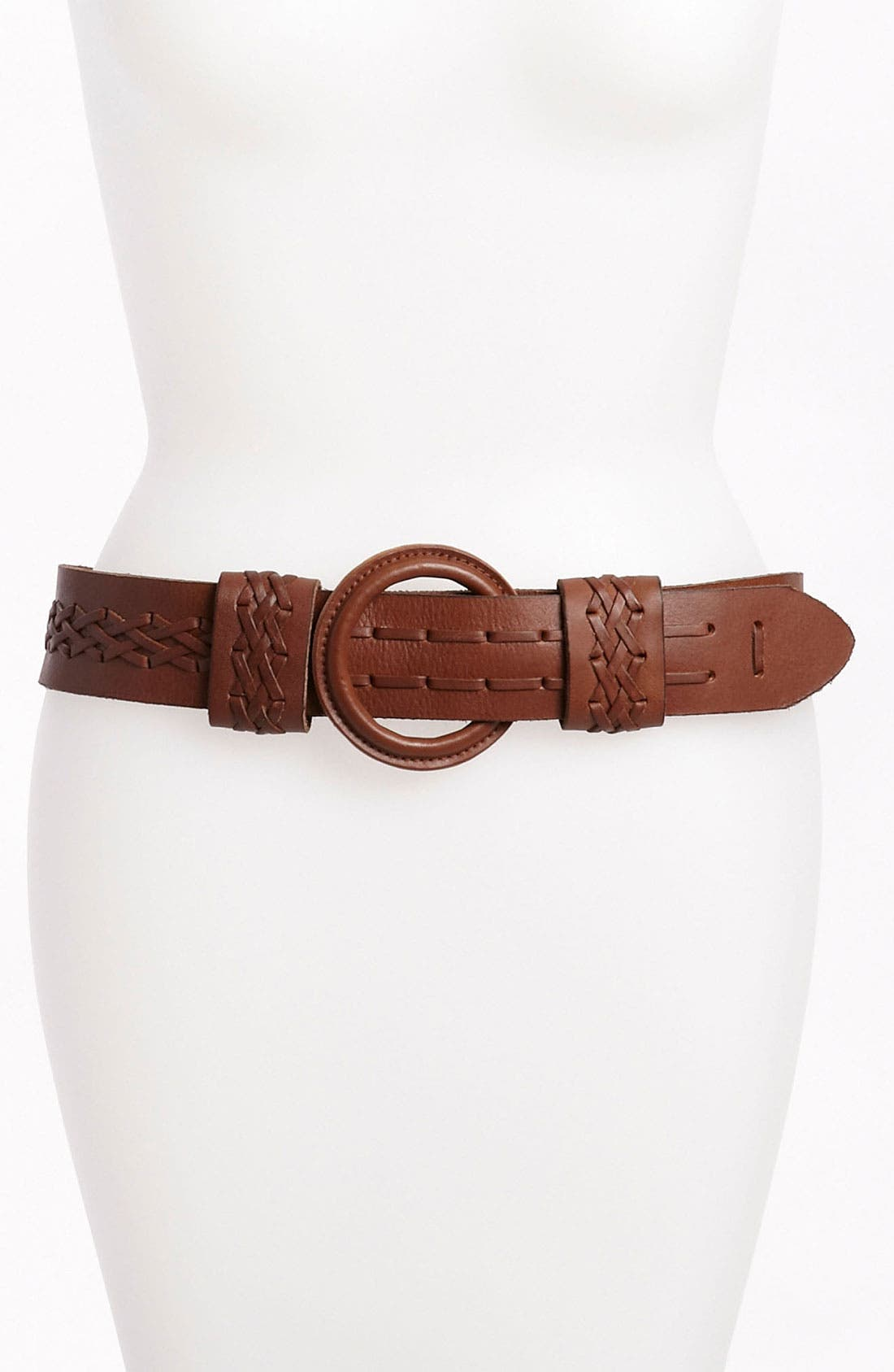 Alternate Image 1 Selected - Another Line Leather Belt