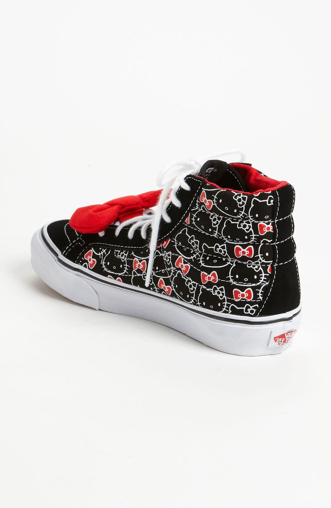 Alternate Image 2  - Vans 'Sk8 Hi Slim - Hello Kitty®' Sneaker (Women)