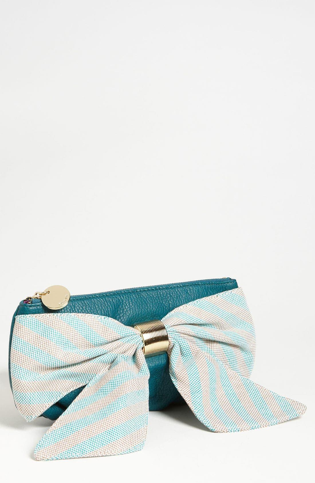 Main Image - Deux Lux 'Heidi Girl' Stripe Box Clutch