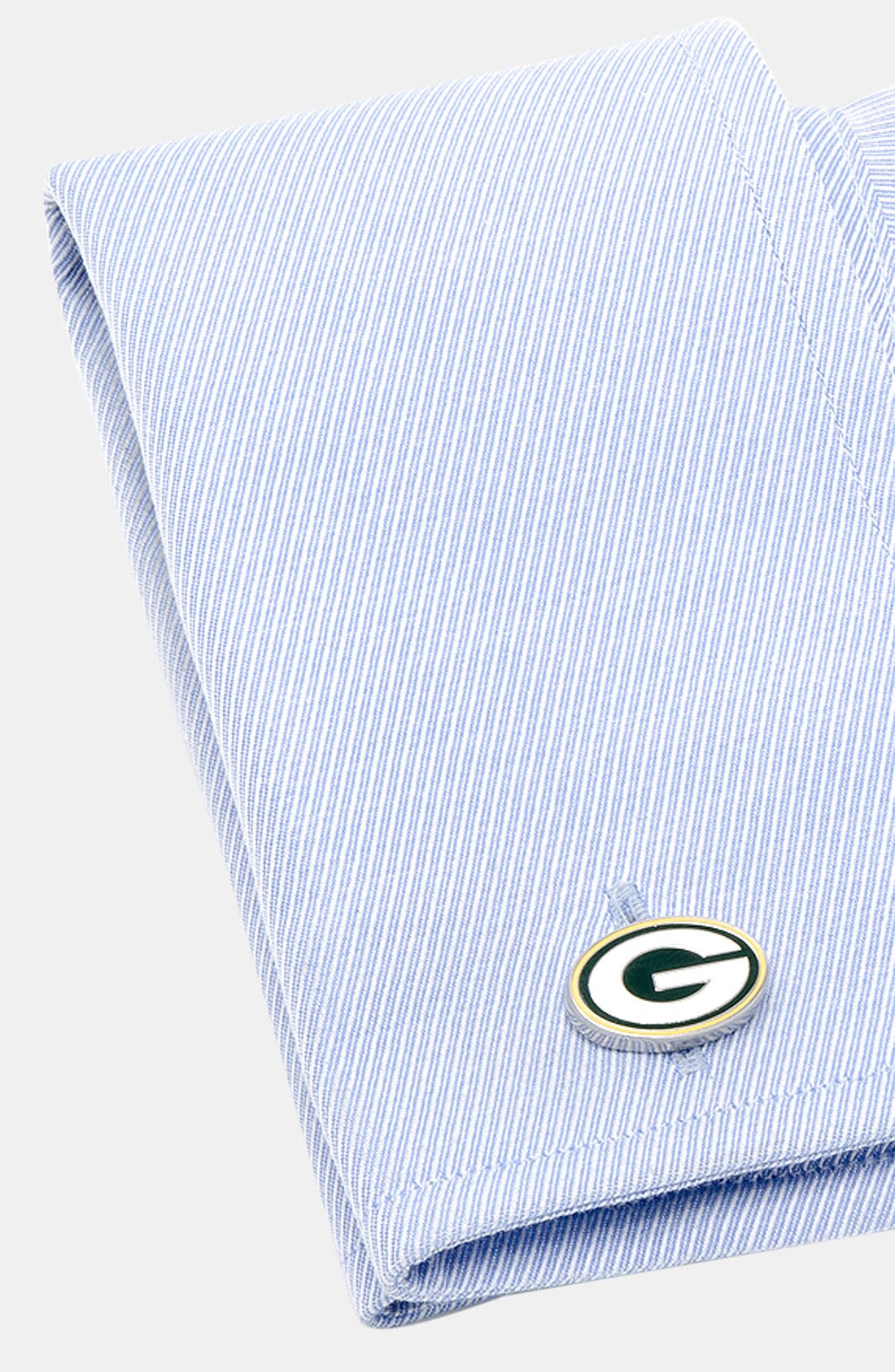 Alternate Image 2  - Cufflinks, Inc. 'Green Bay Packers' Cuff Links
