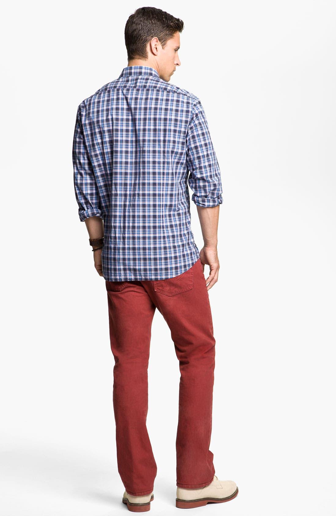 Alternate Image 5  - BOSS Black 'Lorenzo' Regular Fit Sport Shirt