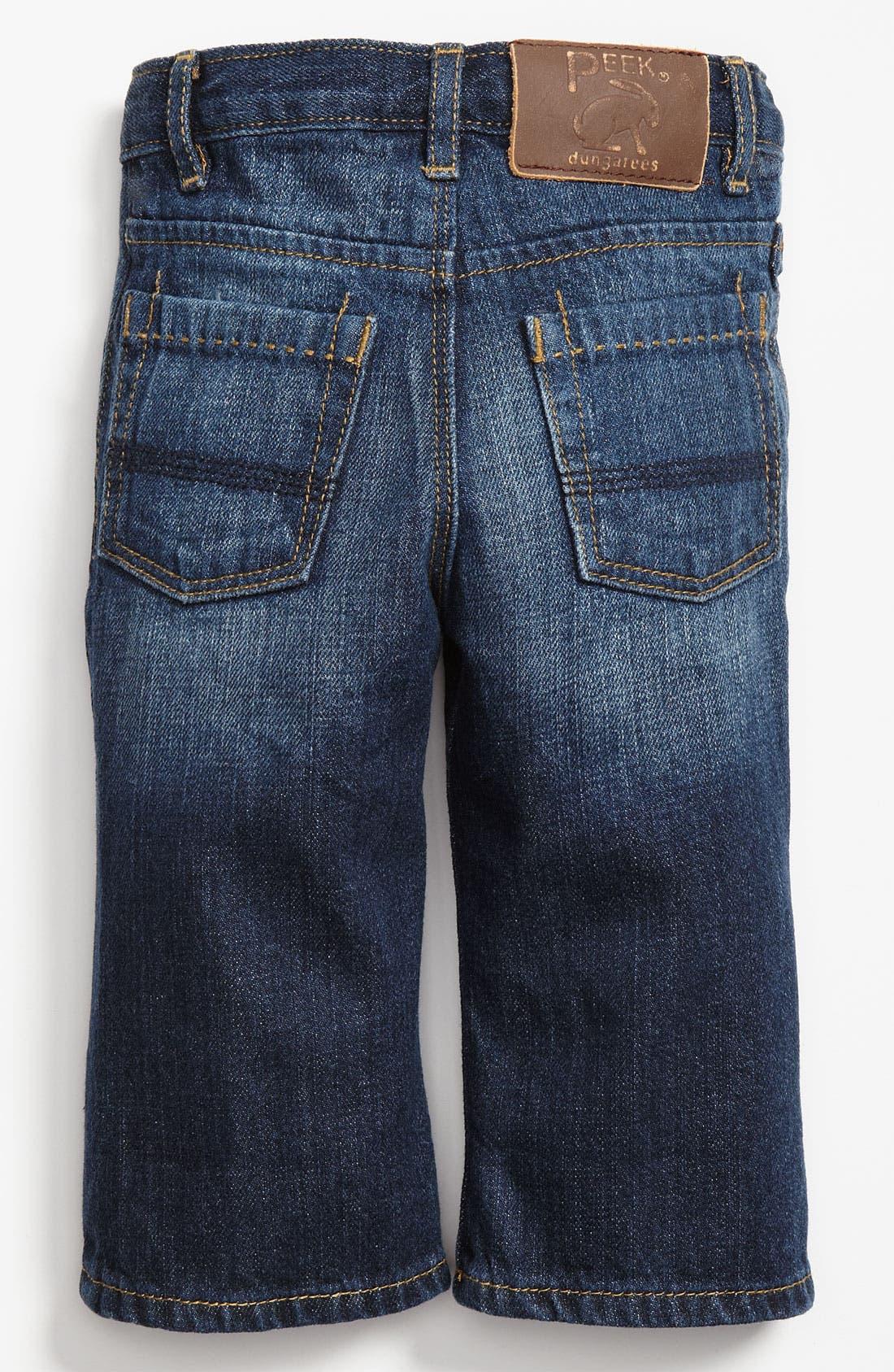 Main Image - Peek 'Big Peanut' Jeans (Infant)