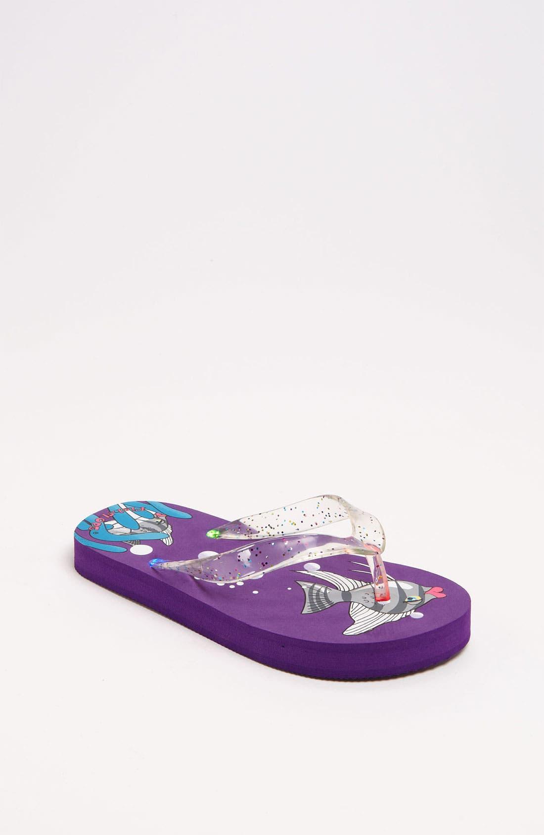 Main Image - Fish Flops 'Angel Fish Lights' Flip Flops (Toddler & Little Kid)