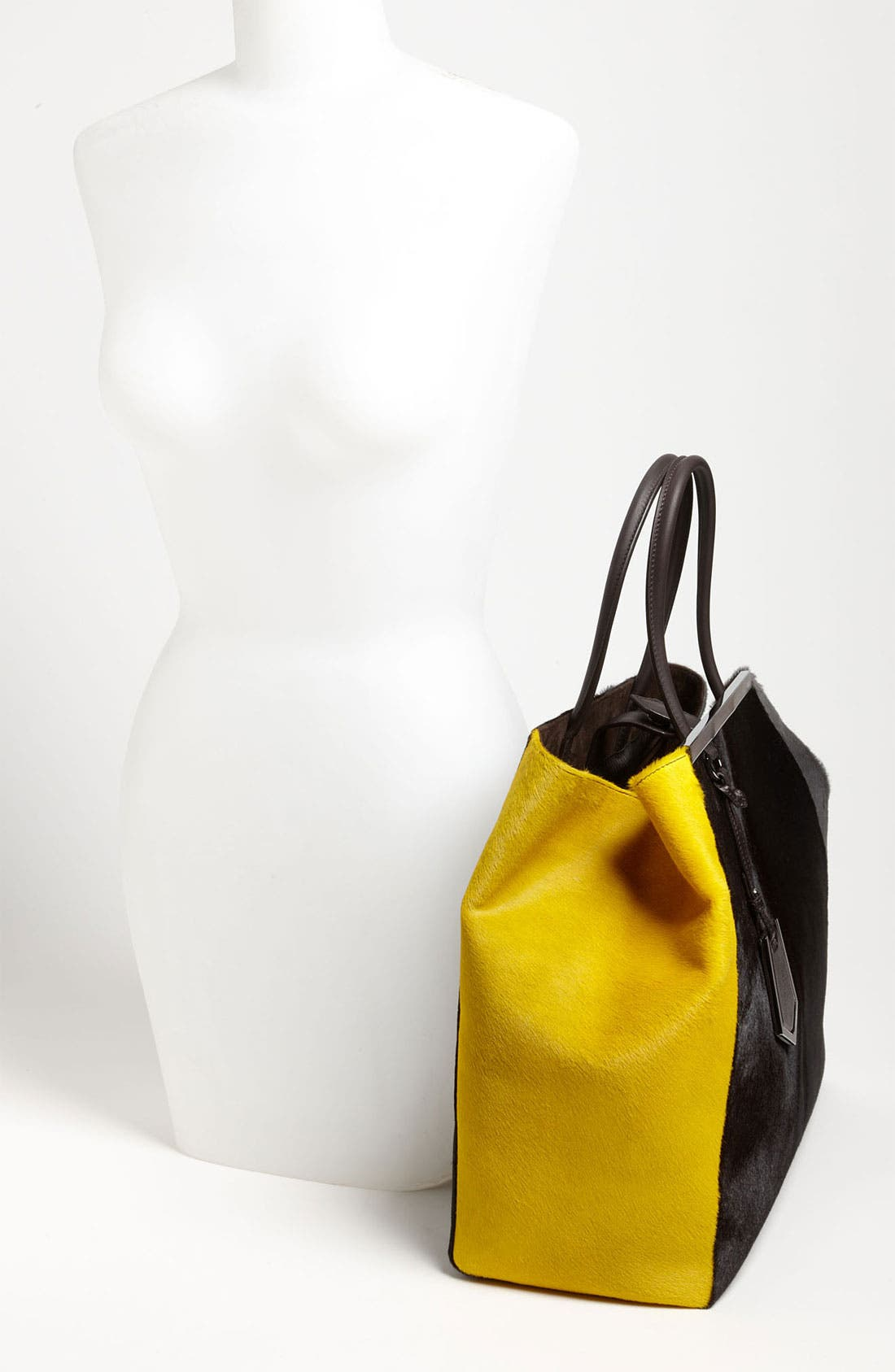 Alternate Image 2  - Fendi '2Jours - Large' Calf Hair Shopper