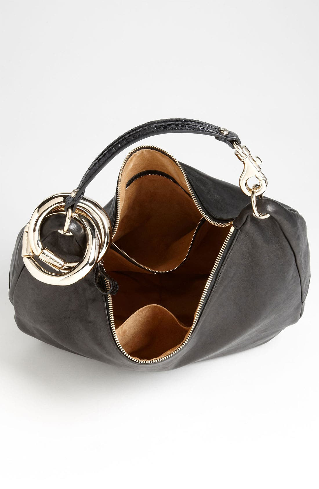 Alternate Image 3  - Jimmy Choo 'Large Solar Calf' Leather Hobo