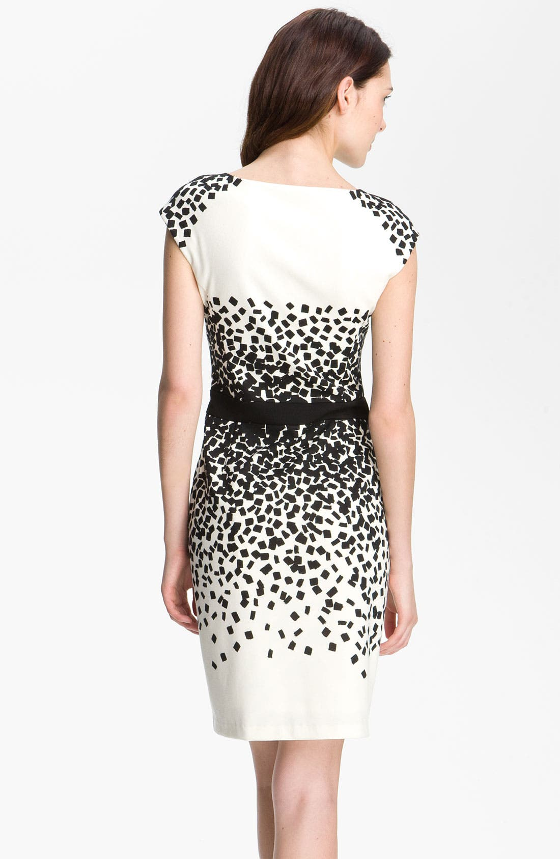 Alternate Image 2  - Maggy London Scatter Print Ponte Sheath Dress