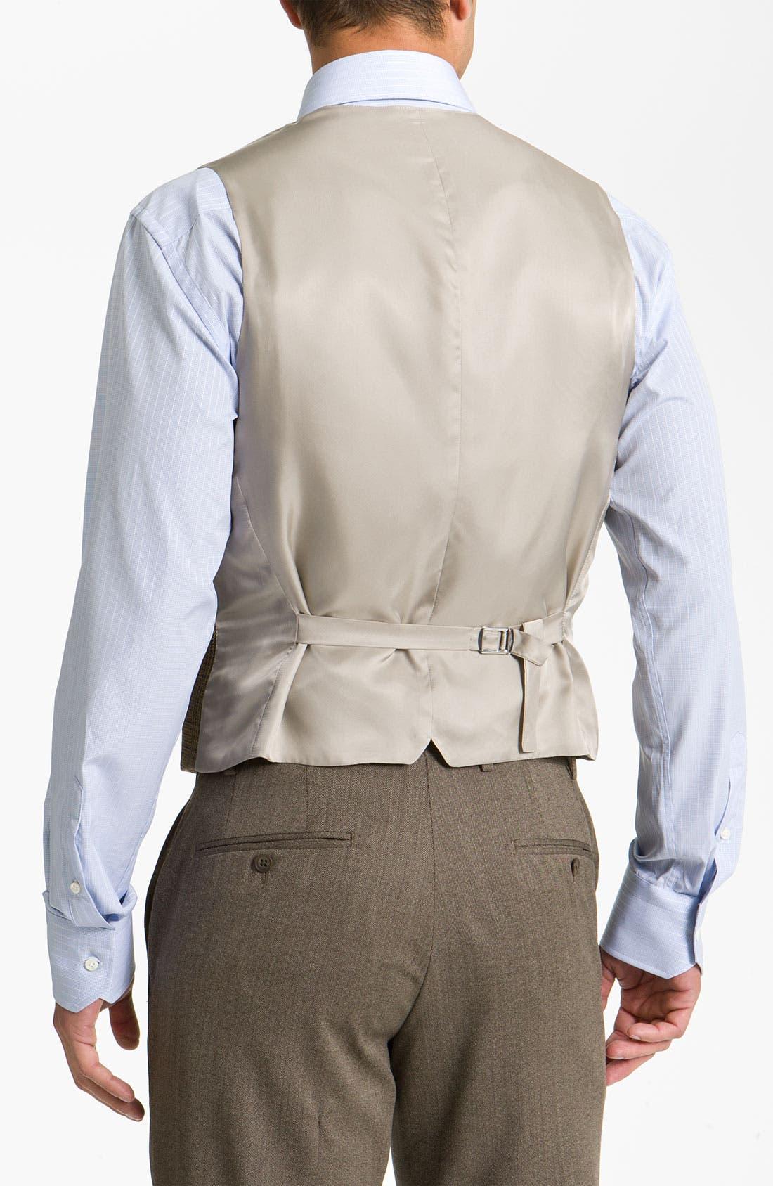 Alternate Image 2  - John W. Nordstrom® Plaid Wool Vest