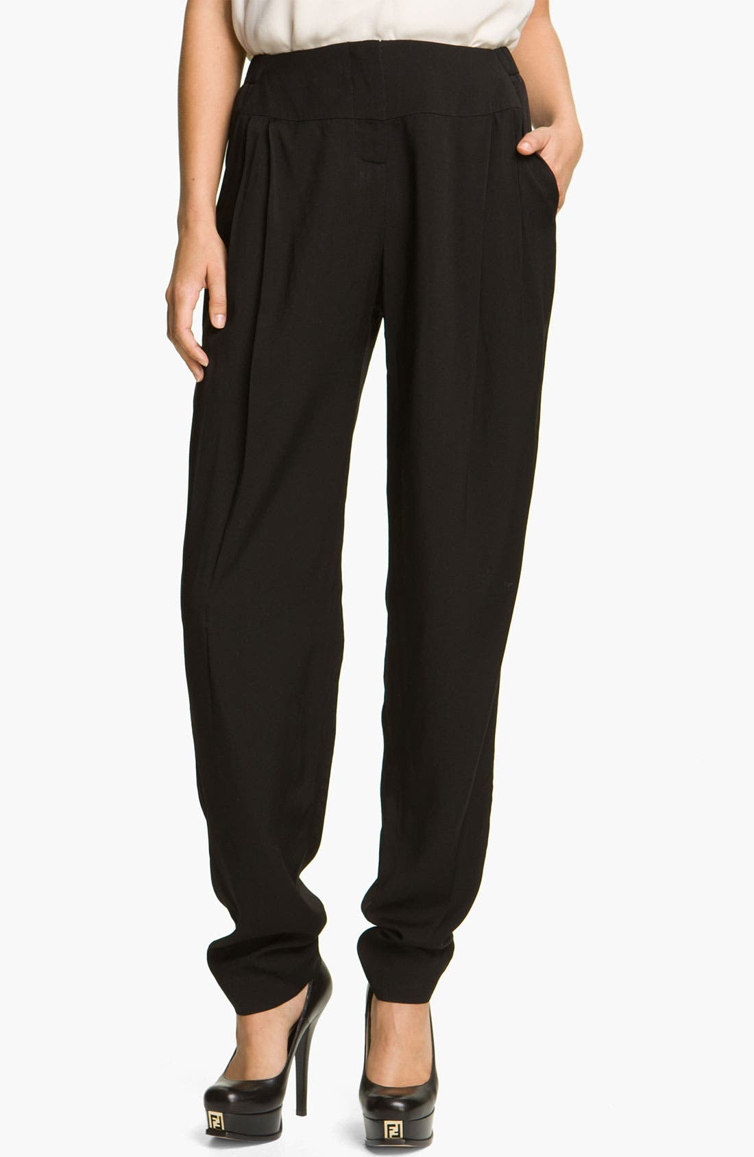 Main Image - Halston Heritage Pleated Trousers