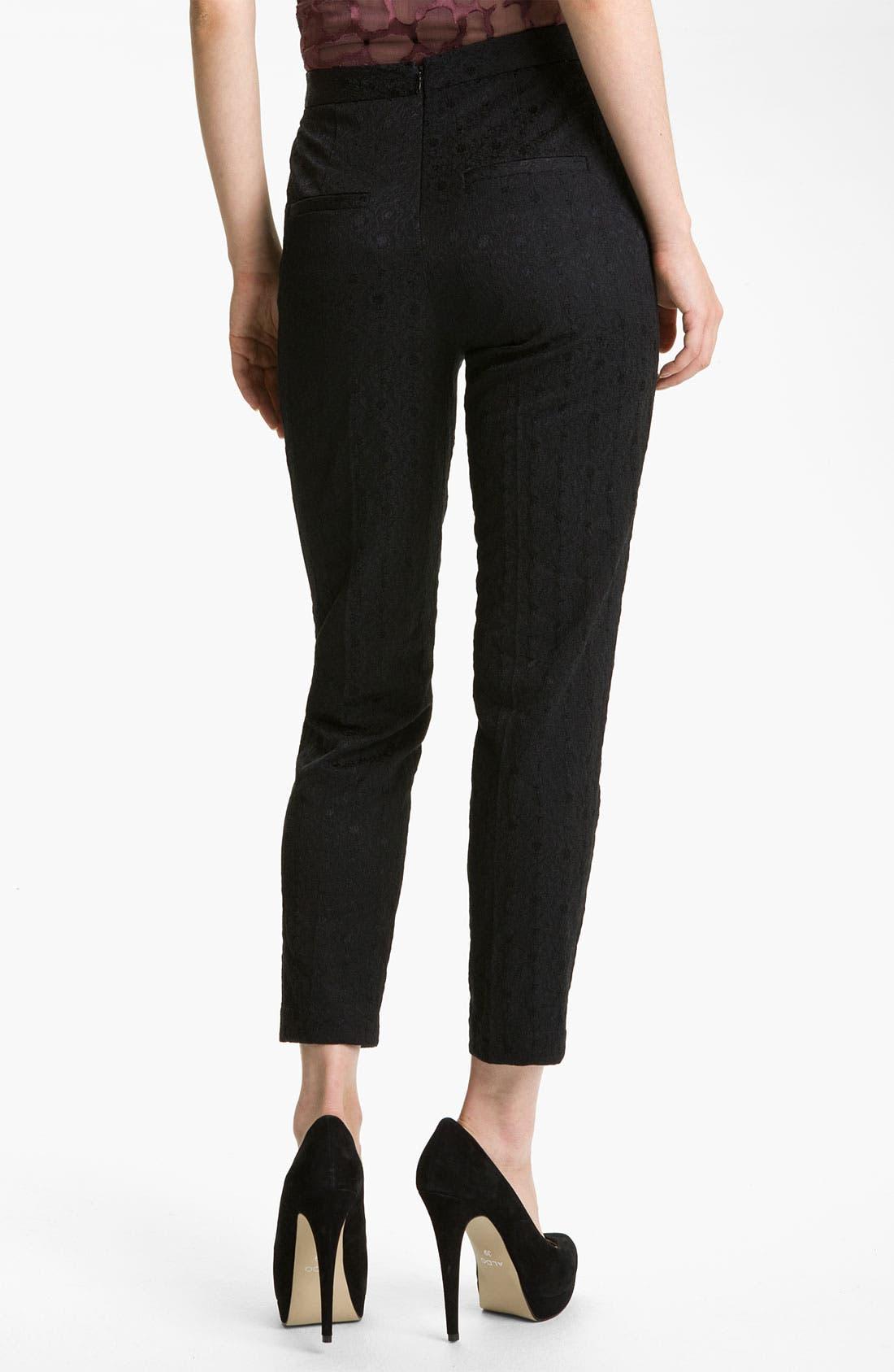 Alternate Image 2  - Robert Rodriguez Crop Jacquard Pants