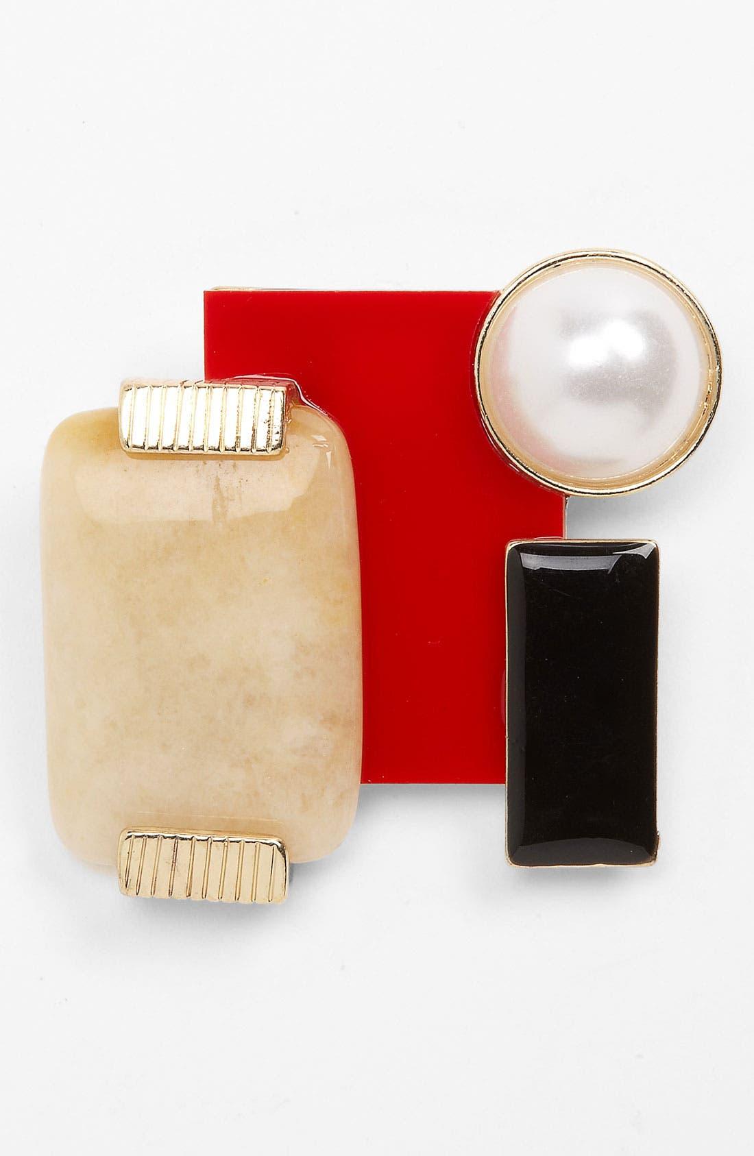 Alternate Image 1 Selected - Natasha Couture Deco Brooch