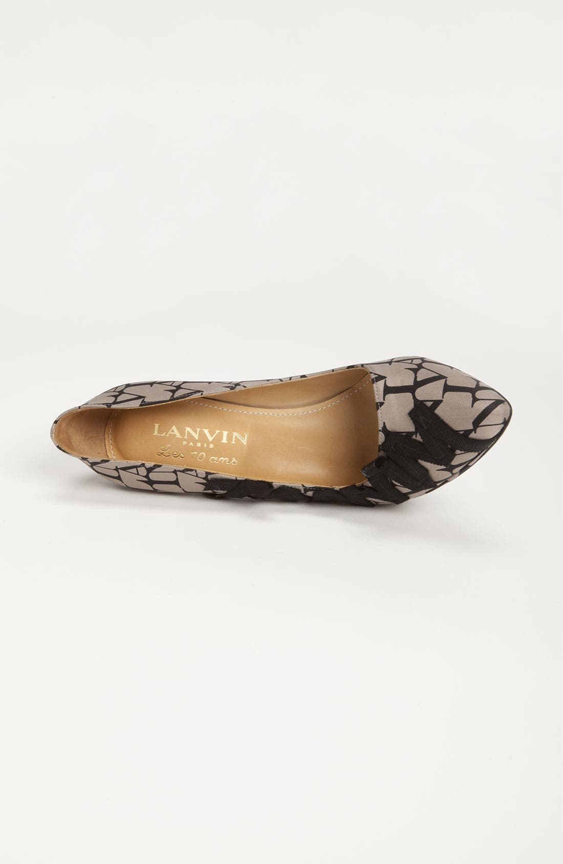 Alternate Image 3  - Lanvin '10th Anniversary' Logo Pump
