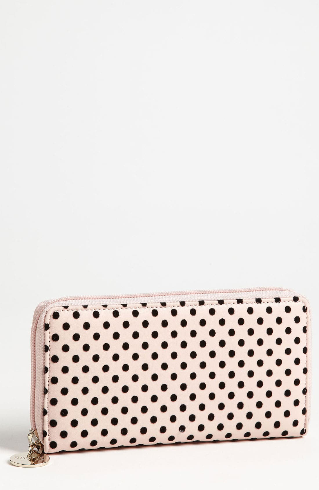 Alternate Image 1 Selected - RED Valentino 'Dots' Continental Wallet