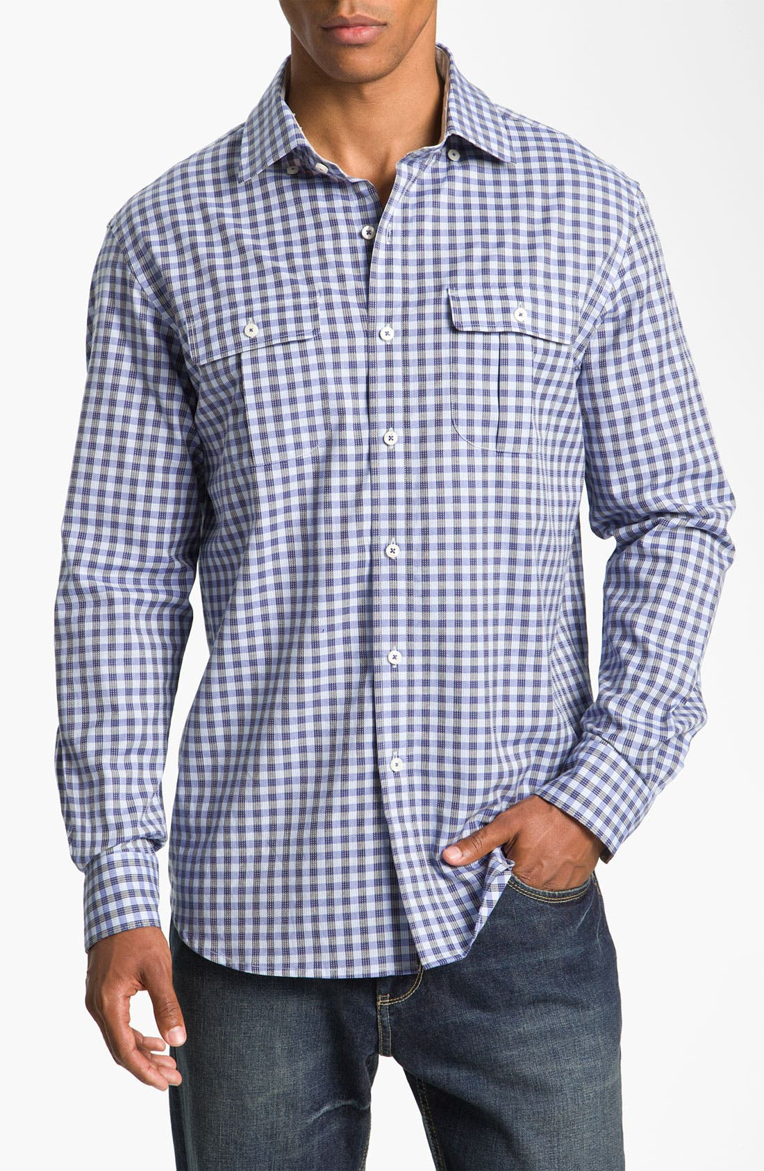 Alternate Image 1 Selected - Tommy Bahama 'Waterway' Sport Shirt