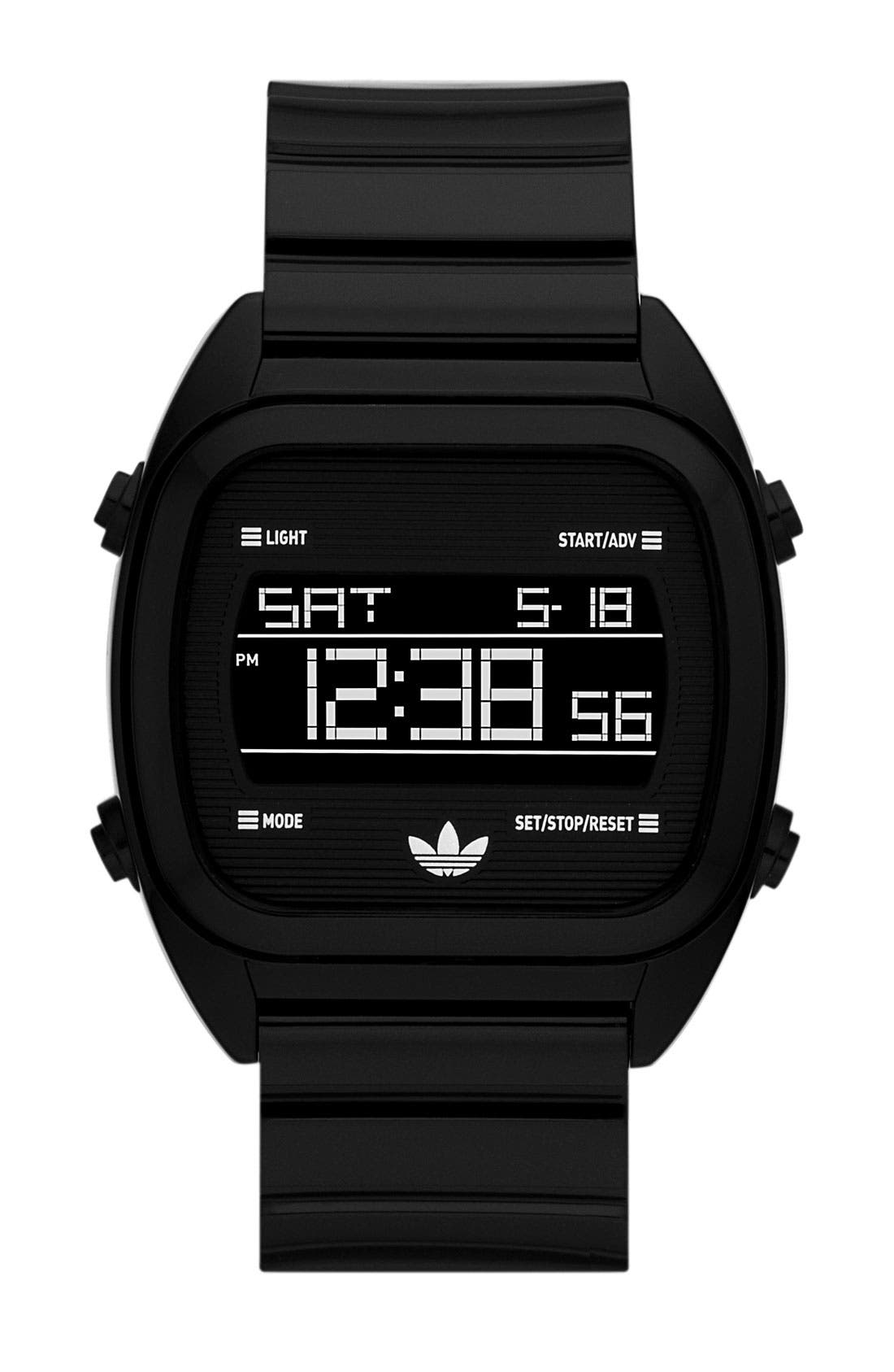 Main Image - adidas Originals 'Sydney' Digital Resin Strap Watch, 40mm