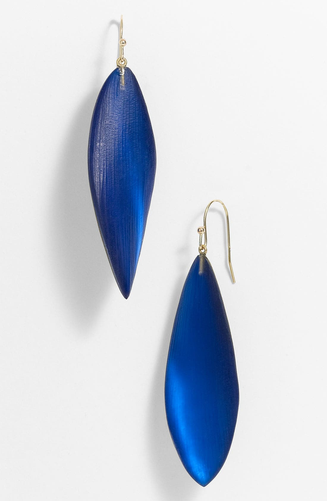 Main Image - Alexis Bittar 'Lucite®' Long Leaf Statement Earrings