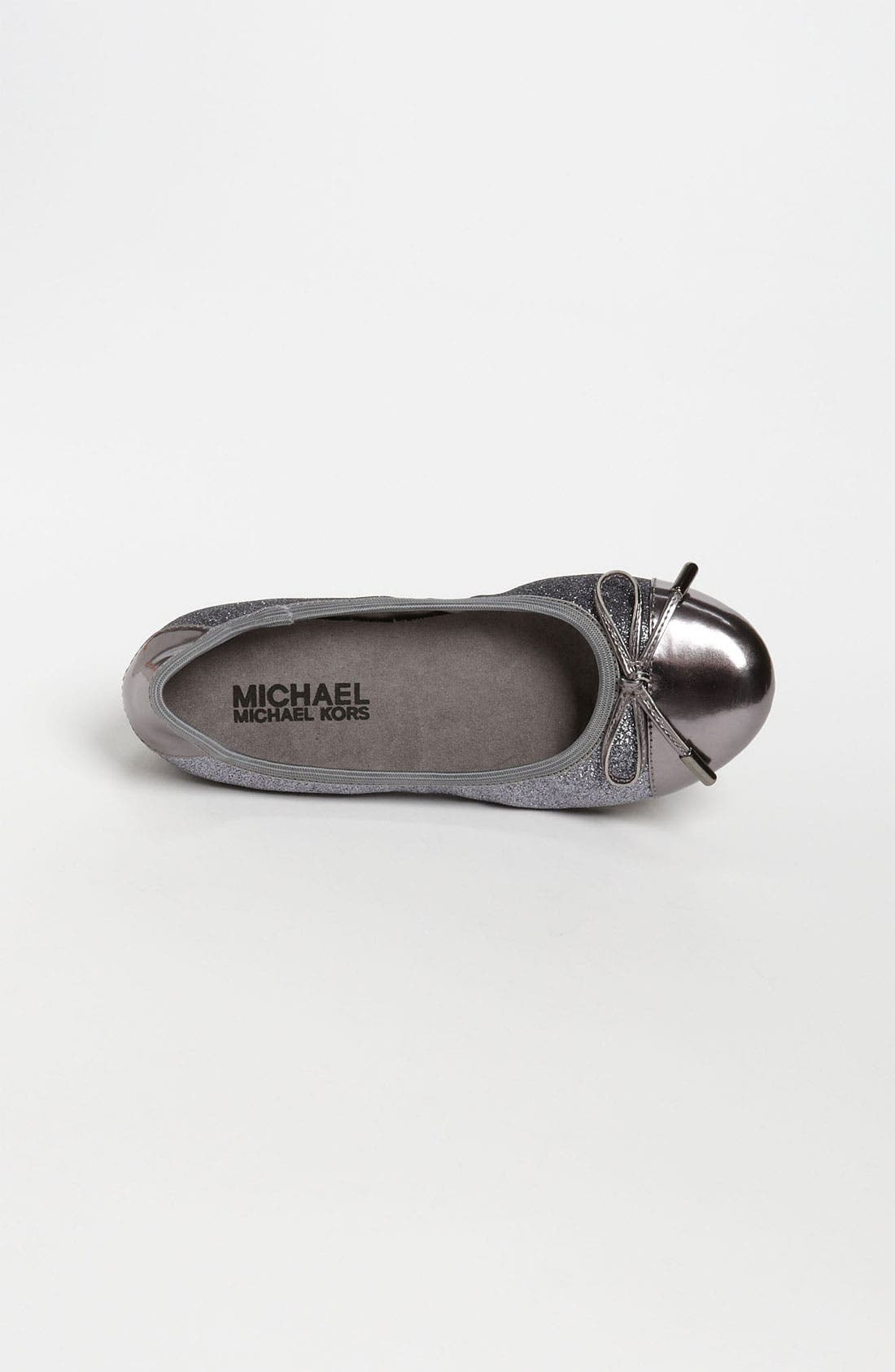 Alternate Image 3  - MICHAEL Michael Kors 'Josie' Flat (Toddler, Little Kid & Big Kid)