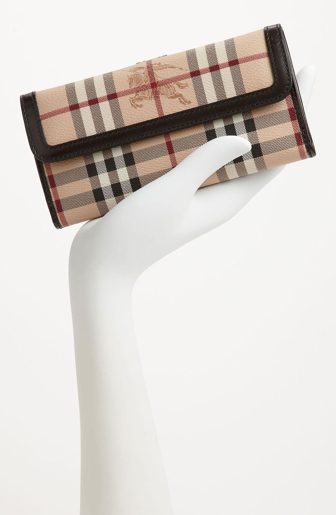 Alternate Image 2  - Burberry 'Haymarket Check' Checkbook Wallet