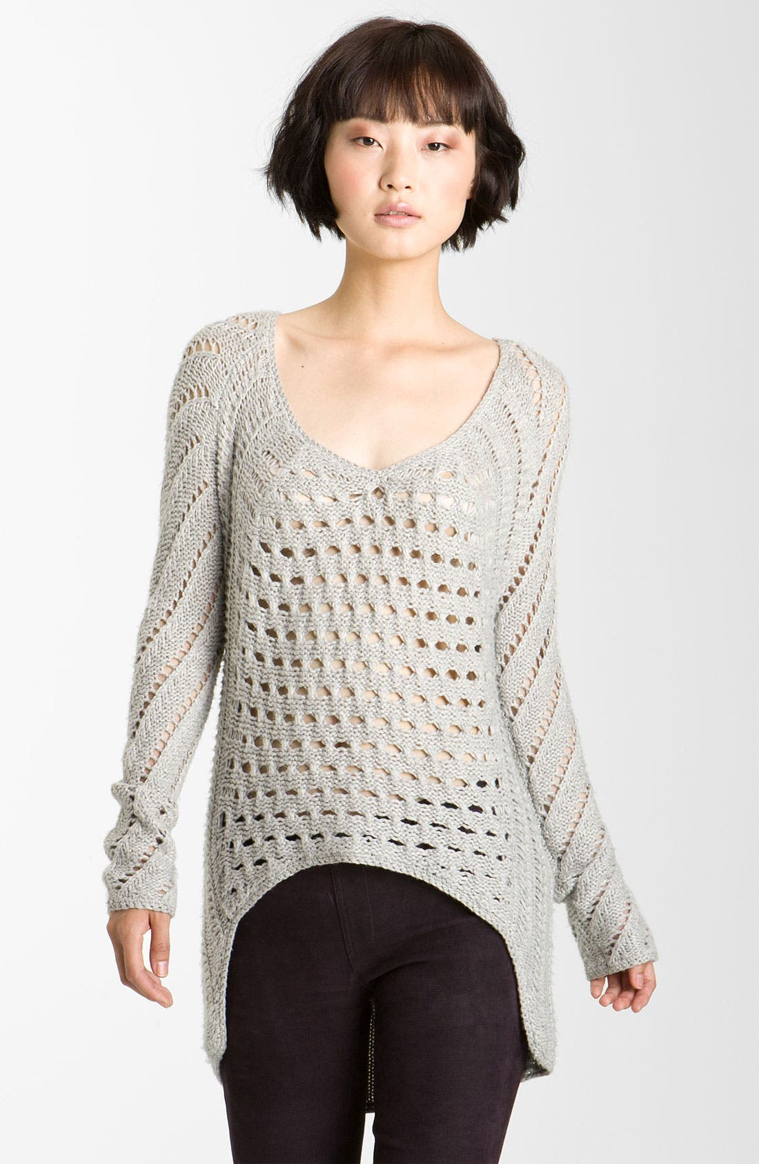 Main Image - Helmut Lang 'Inherent Texture' Knit Sweater