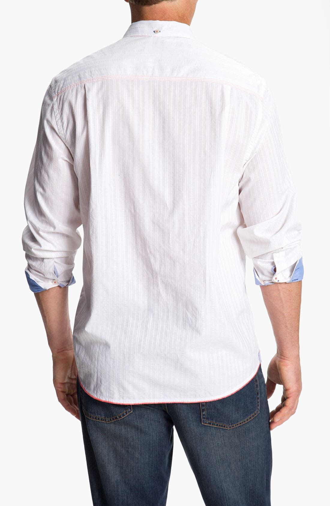 Alternate Image 2  - Tommy Bahama Denim 'Destination Dobby' Sport Shirt