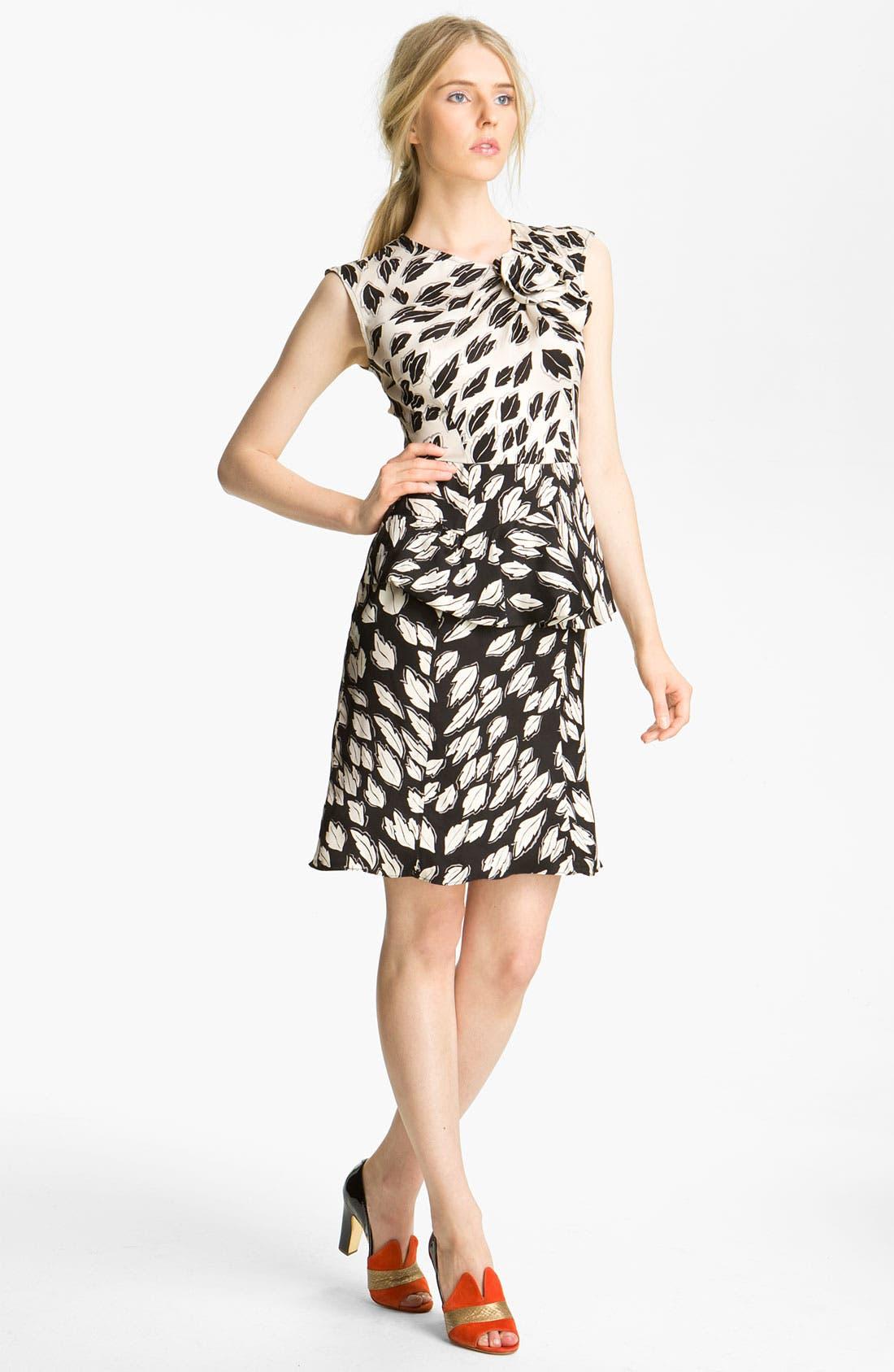 Main Image - Tracy Reese 'Falling Leaves' Peplum Dress