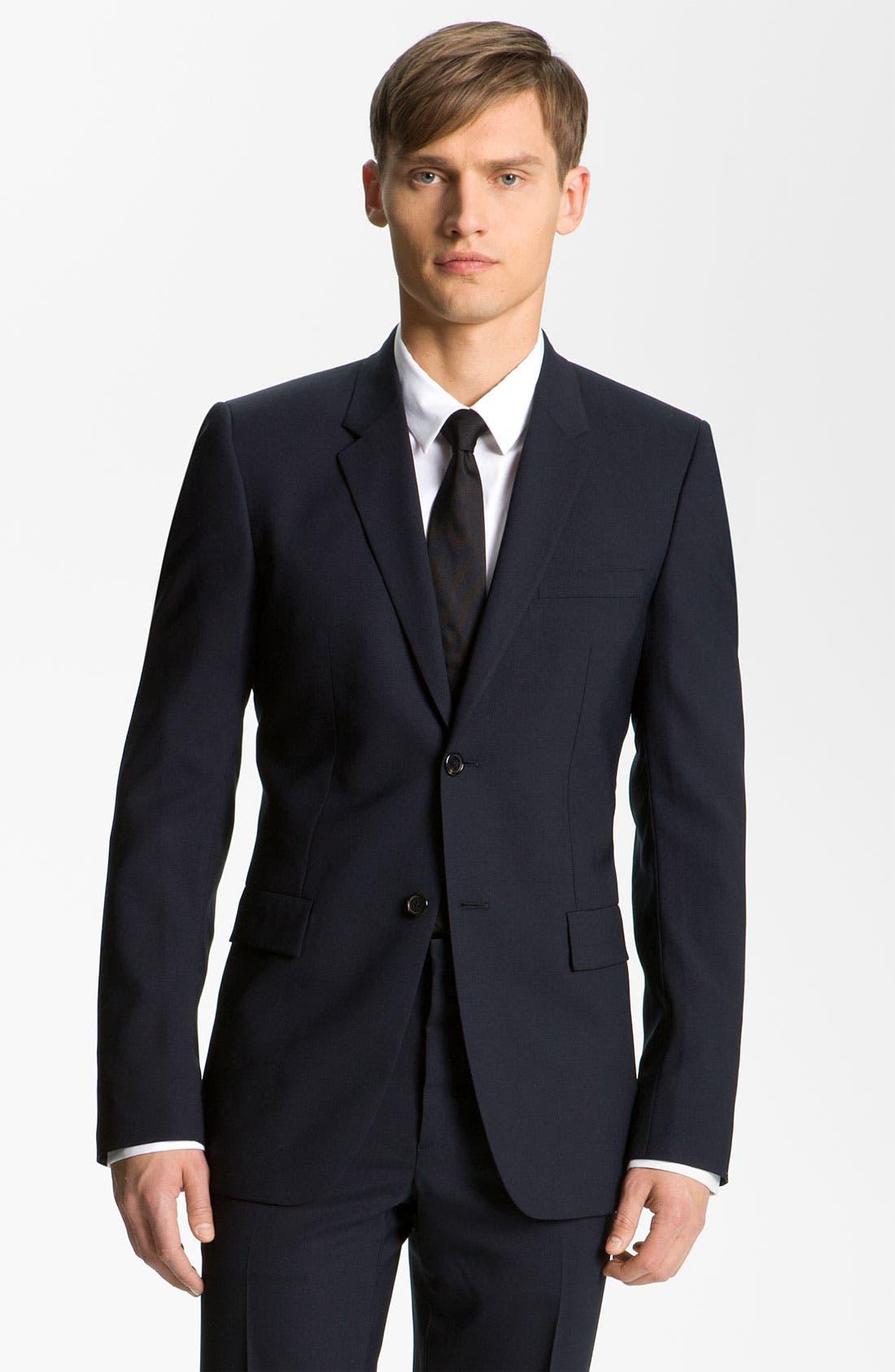 Main Image - Jil Sander Stretch Wool Blend Suit