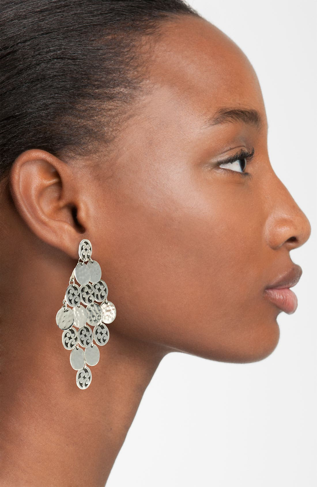 Alternate Image 2  - Lois Hill 'Summer Shimmer' Disc Chandelier Earrings