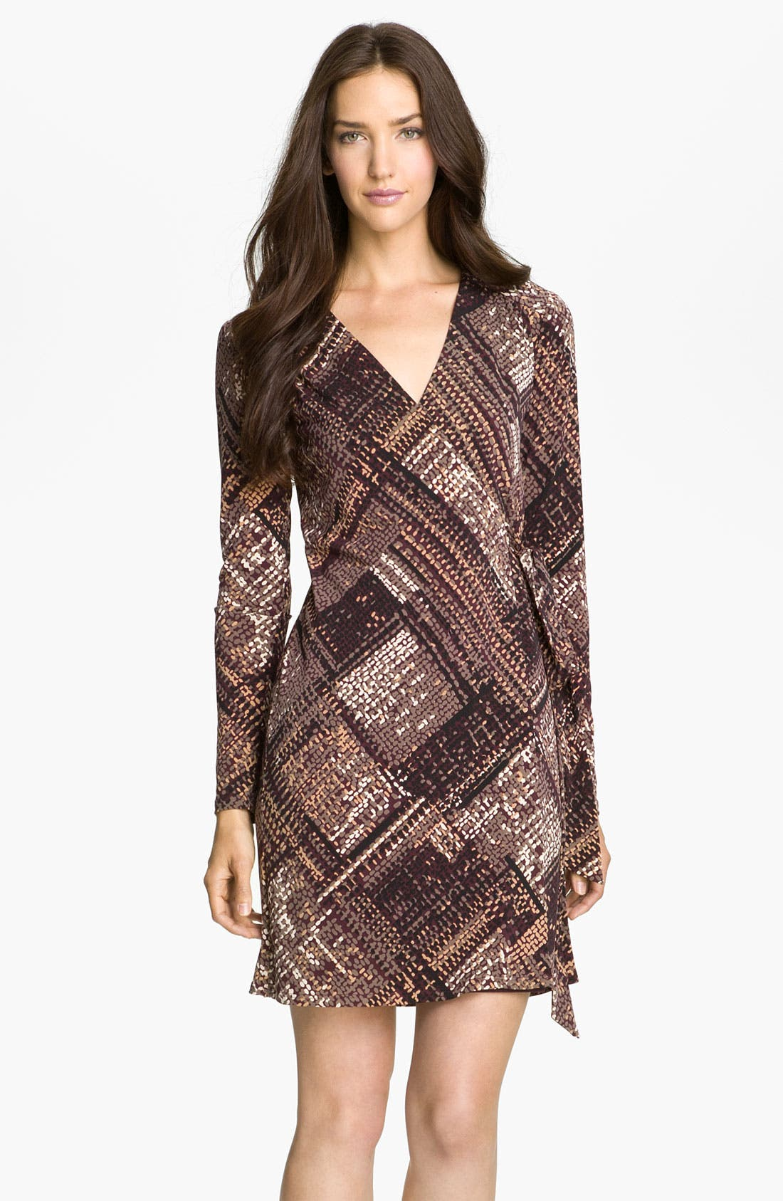 Alternate Image 1 Selected - Trina Turk 'Dinah' Printed Jersey Wrap Dress