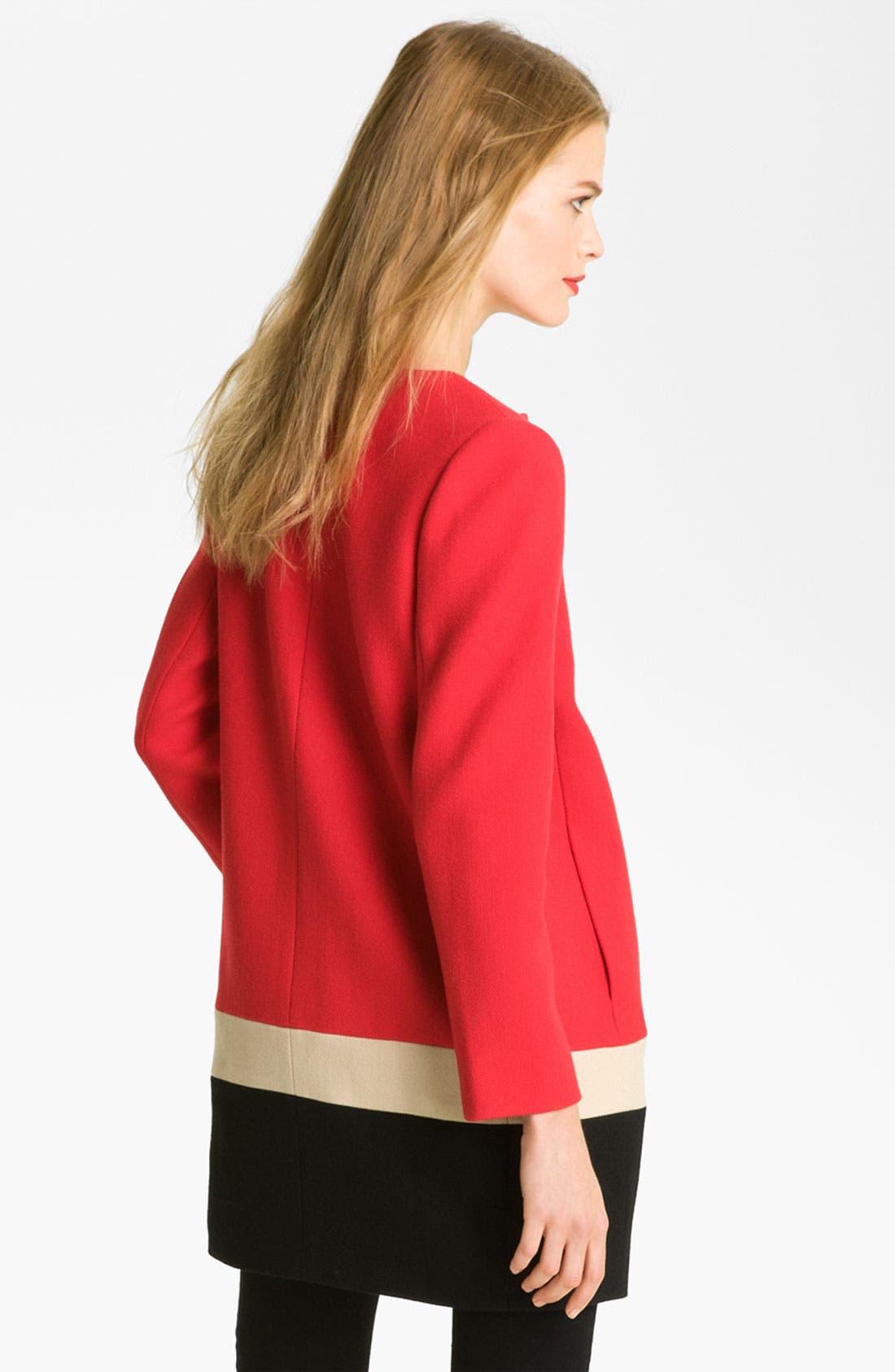 Alternate Image 2  - kate spade new york 'garby' wool coat