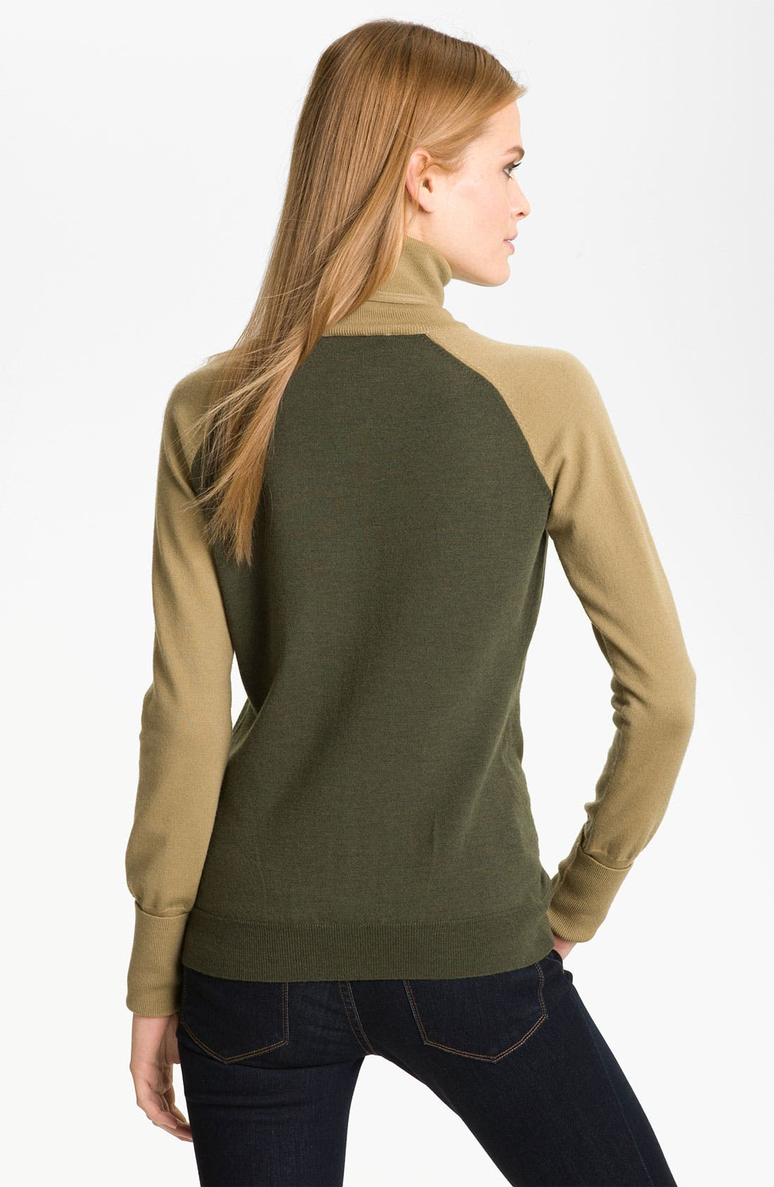Alternate Image 2  - Rachel Roy Merino Wool Turtleneck (Online Exclusive)